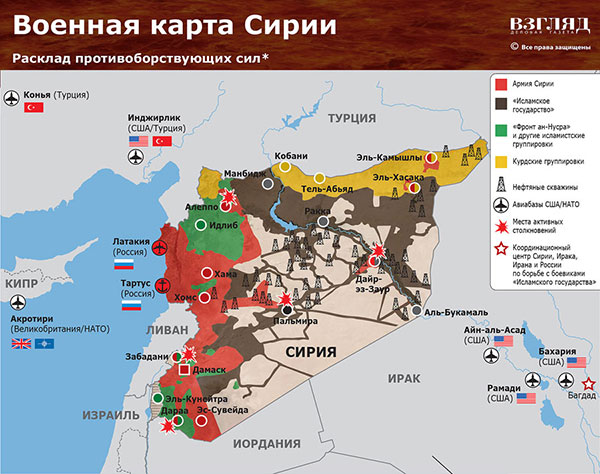 Ситуација на фронту у Сирији